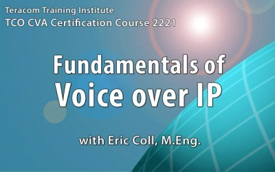 Free lesson 1 - Course 2221 Fundamentals of Voice over IP