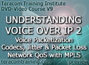video preview - Understanding VoIP 2: Voice Packetization · Voice Quality · Codecs, Jitter and Packet Loss · Network QoS with MPLS