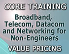 instructor-led Course 101: Broadband, Telecom, Datacom and Networking for Non‑Engineers