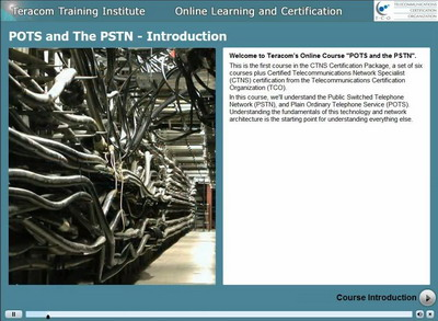 POTS and the PSTN - course introductionduction Lesson