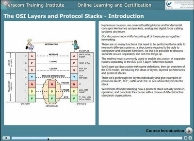 Free lesson 1 - Course Introduction - The OSI Layers and Protocol Stacks