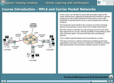 Course L2114 MPLS and Carrier Networks