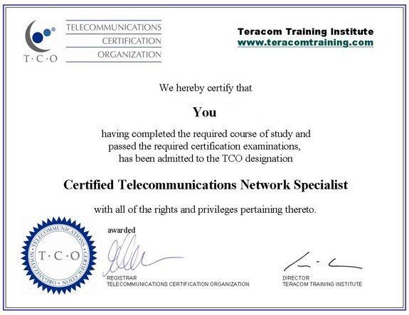 ctns certificate