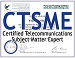 CTSME Certified Telecommunications Subject Matter Expert TCO
