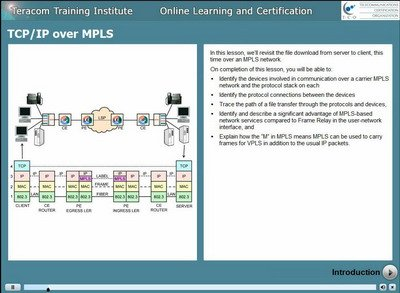 Free Lesson: TCP/IP over MPLS