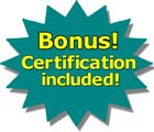 certification is included with Course 101 and DVD Library V530