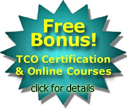 free bonus TCO certifications