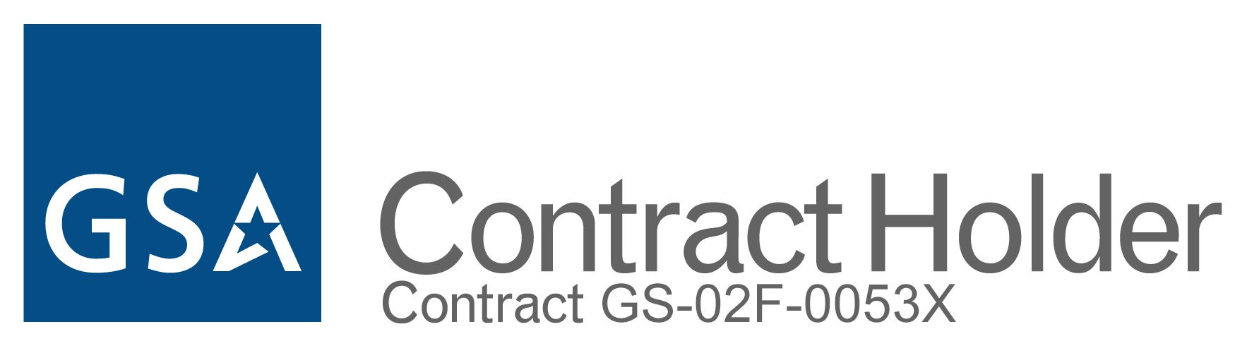 gsa contract holder.  contract GS-02F-0053X