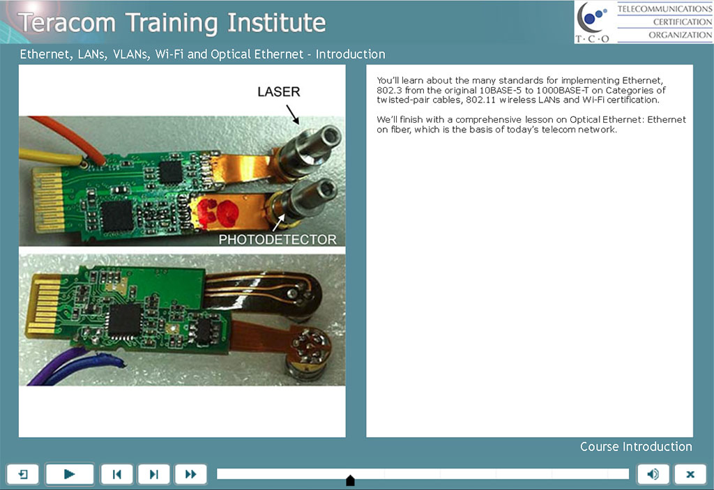 Free lesson 1 - Course Introduction - LANs, VLANs, Wireless and Optical Ethernet