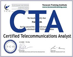 tco cta telecommunications certification