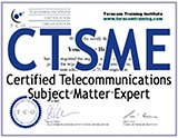 CTSME - TCO Certified Telecommunications Subject Matter Expert