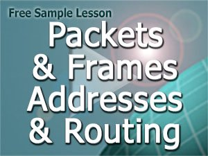 Course V3 Free Lesson: Packets-frames-addresses-routing